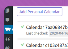 Version 1.4.0: Synchronize from Multiple Calendars thumbnail
